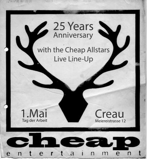 25 Jahre Cheap Records 1993 – 2018