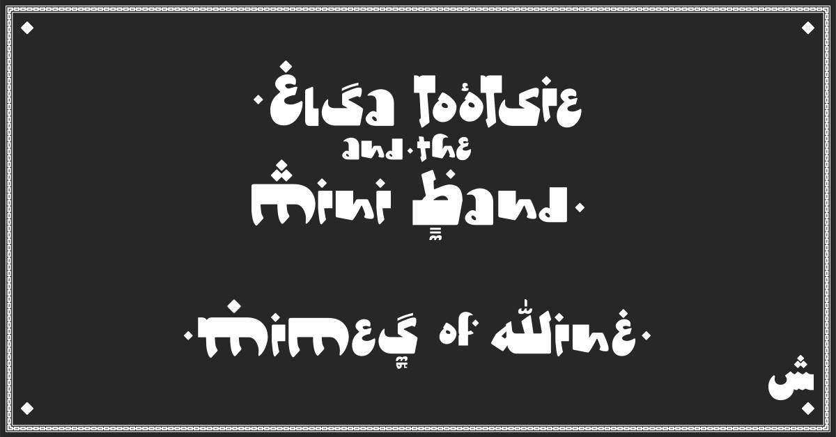 Live: Elsa Tootsie and the Mini Band / Mimes of Wine