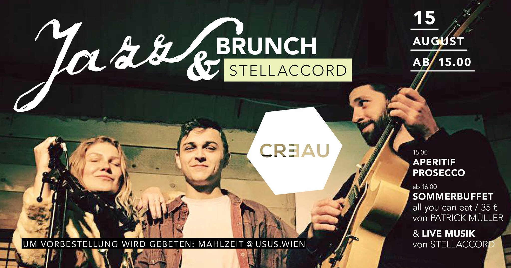 Jazz Brunch by Patrick Müller & live Music by Stellaccord